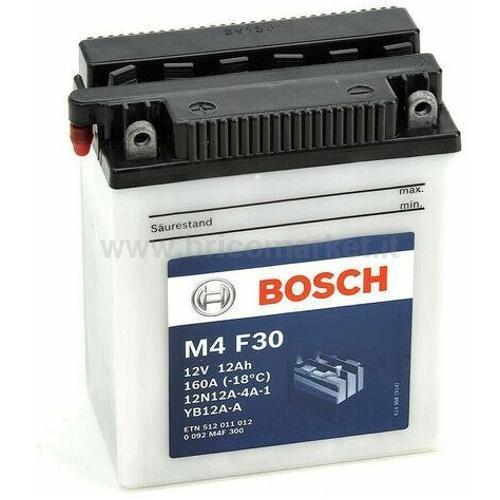 BOSCH BATTERIA M4F30 (12AH SX)