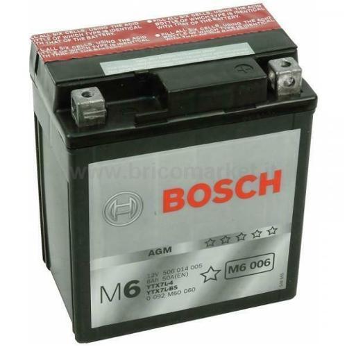 BOSCH BATTERIA M6006 (6AH DX)