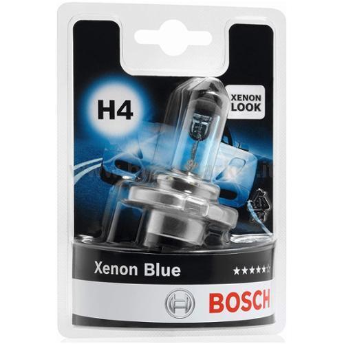 BOSCH 1 LAMP H4 XENON BLUE 010