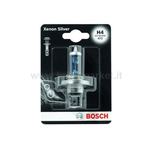 BOSCH 1 LAMP H4 XENON SILVER