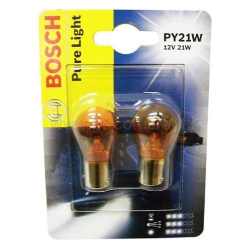 BOSCH 2 LAMP PY21W 018