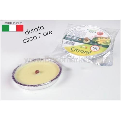 FIACCOLA IN ALLUMINIO CITRONELLA D16.5CM