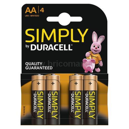 DURACELL SIMPLYS STILO AA1500 4PZ