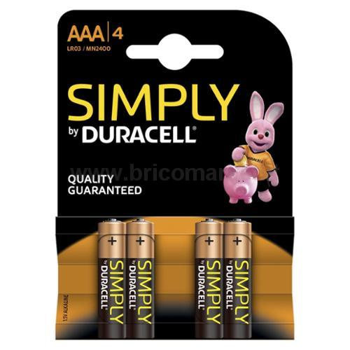 DURACELL SIMPLYS MINISTILO AAA 2400 4PZ