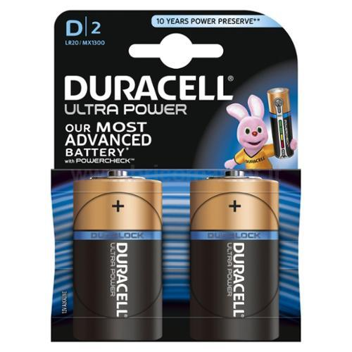 BATTERIE DURACELL ULTRA TORCIA 1300 2PZ
