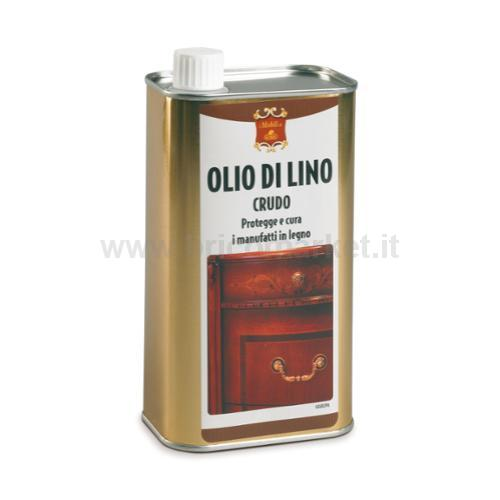 OLIO LINO CRUDO LATTINA 1000 ML