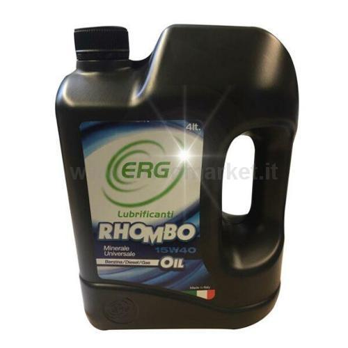 ERG RHOMBO 15W40 LT.4