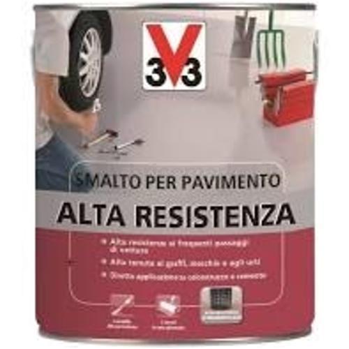 SMALTO PER SUOLI ALTA RESISTENZA ROSSO MATTONE LT.2.5