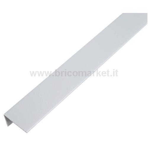 PROFILO ANGOLARE.PVC.ALLU GRIGIO.25X15X1/1M
