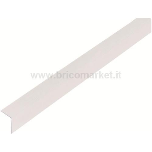 PROFILO ANGOLARE.PVC.TRASPARTENTE.20X20X1.5/1M