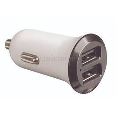 KIT 2 PRESE USB PER CONNETTORE AUTO 12V MAX 2.1A
