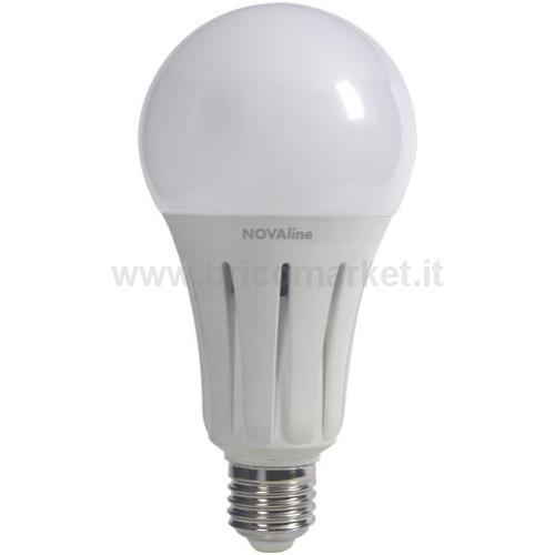 LAMPADA LED BULBO E27 24W LUCE FREDDA
