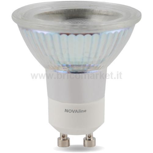 LAMPADA LED GU10 5W LUCE FREDDA