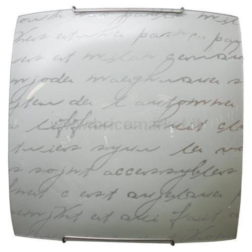 PLAF.1XE27 G.FILO ACCIAIO V.LASTRA SCR