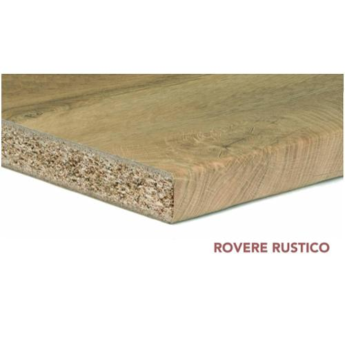 TOP ROVERE RUSTICO 2R4 CM. 2.8X304X60