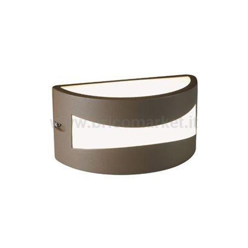 APPLIQUE LED CON FESSURA 10W (TIBET) MARRONE