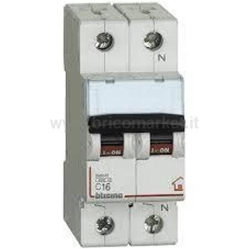 MAGNETOTERMICO 1+N 16A 4.5 KA C 2M BT