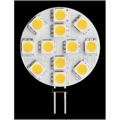 LED BISPINA PIATTO - 2W - G4 - 3000K - 170 LM