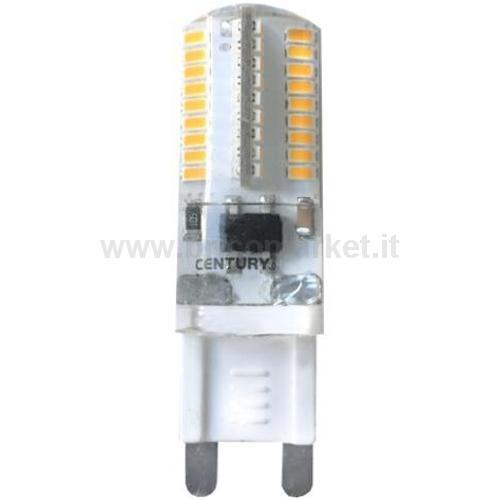 LED BISPINA POLICARB. - 3W - G9 - 6400K - 200 LM