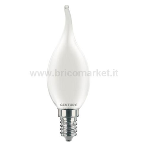 INCANTO LED SATEN COLPO DI VENTO 4W E14 6000K 470 LM