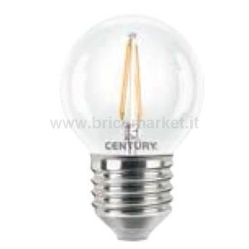 MINIGLOBO LED INCANTO - 4W - E27 - 2700K - 480LM
