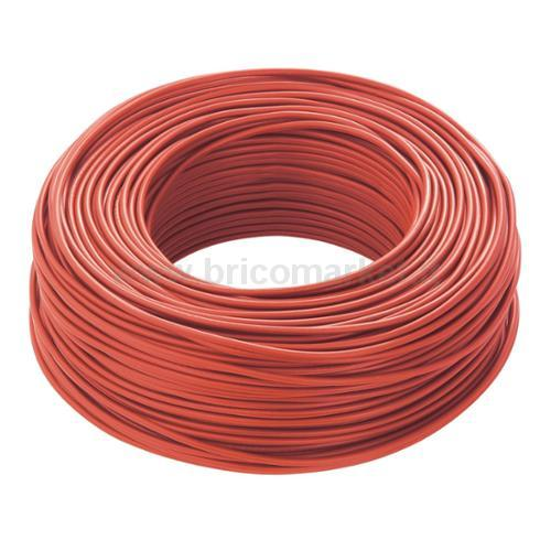 CAVO CLASSE CCA-S3 D1 A3 IS450/750V ROSSO - 100MT