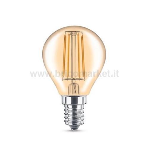 SFERA LED VINTAGE A FILAMENTO E14 - 3,6W - 2700K - 342 LM