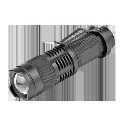 TORCIA LED IN ALLUMINIO CON CLIP (BATTERIA 1 X AA NON INCLUSE)
