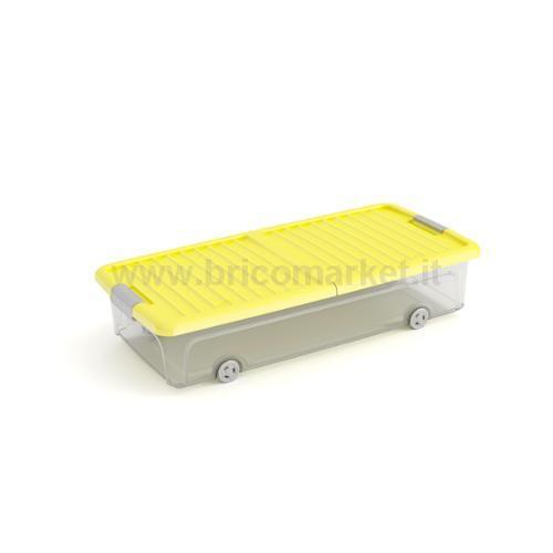 W BOX SOTTOLETTO L CON ROUTE 74 X 37 X 16,5 H GIALLO