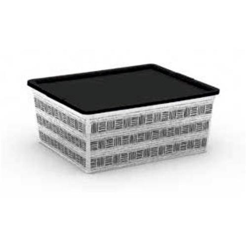 C-BOX STYLE M CORPO + COPERCHIO CON FILM DECORATIVO 40 X 34 X 17 H