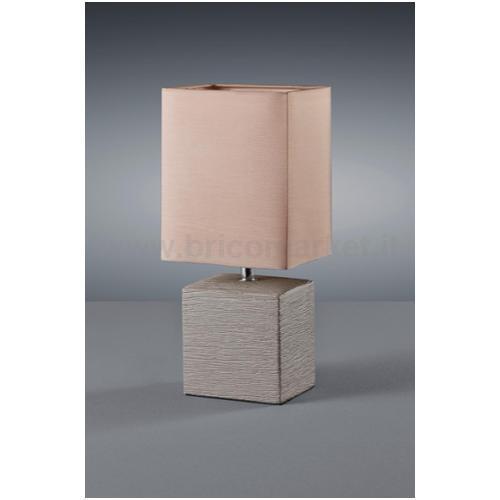 PING LAMP. TAVOLO B.CER. MARR. PAR.QUADRATO H.29