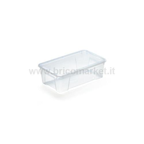 K BOX 2 - CONTENITORE TRASPARENTE C/COPERCHIO 4,4 L