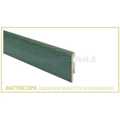 BATTISCOPA MDF CM. 8X1X240 ROVERE TORTORA
