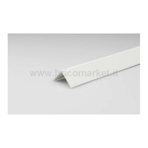 PARASPIGOLO PVC BIANCO CM. 5X5X300