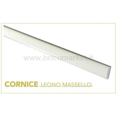 CORNICE MASSELLO 1,8X0,45X200CM BIANCO LACCATO