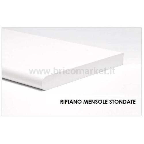 RIPIANO STONDATO CM.1.8X20X100 BIANCO