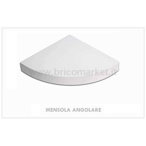 MENSOLA ANGOLARE BIANCA CM.1.8X30X30