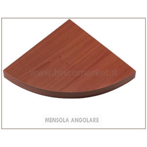 MENSOLA ANGOLARE CILIEGIO CM. 1.8X30X30