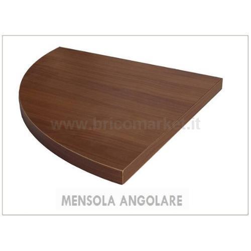 MENSOLA ANGOLARE NOCE CM. 1.8X30X30