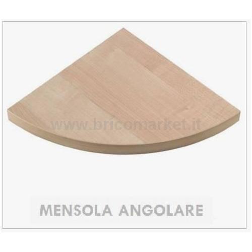 MENSOLA ANGOLARE ROVERE SONOMA CM. 1.8X30X30