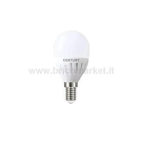 GLOBO MICRO LED FROST 8W E14 6500K 850 LM