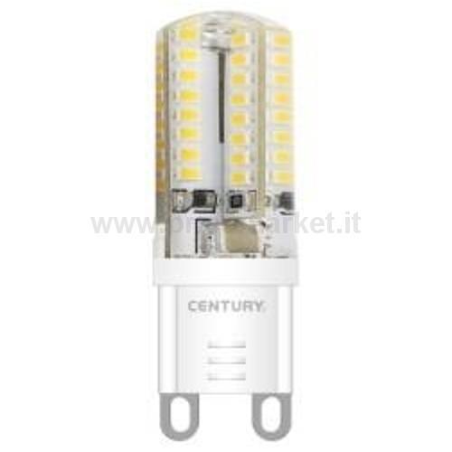 PIXY LED BISPINA POLICARB. 4W G9 6400K 450 LM