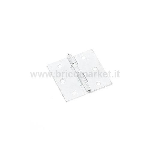 CERNIERA INOX MM.40X40 CONF.R