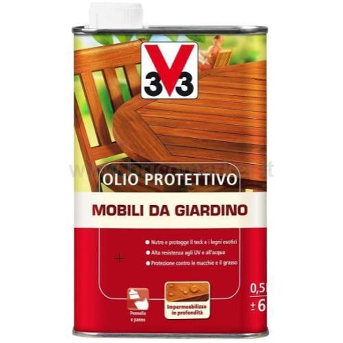 OLIO PROTETTIVO PER LEGNO DA GIARDINO TECK 0,5L