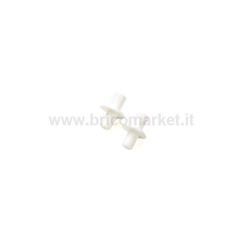 REGGIPIANO PLASTICA DOPPIO MM.5-6 BIANCO PZ.20