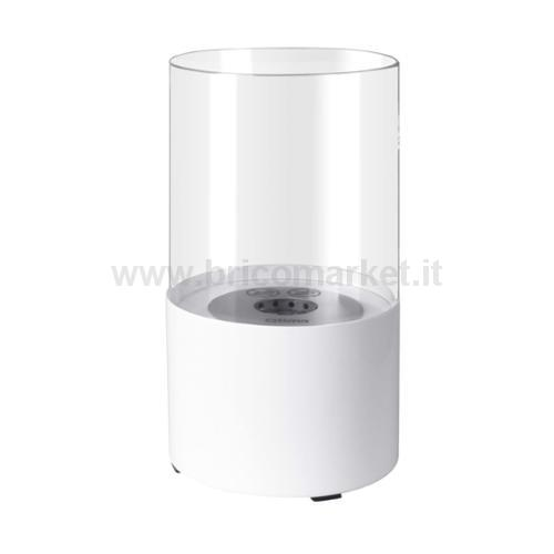 CAMINETTO DECORATIVO FFB017 A BIOETANOLO BIANCO