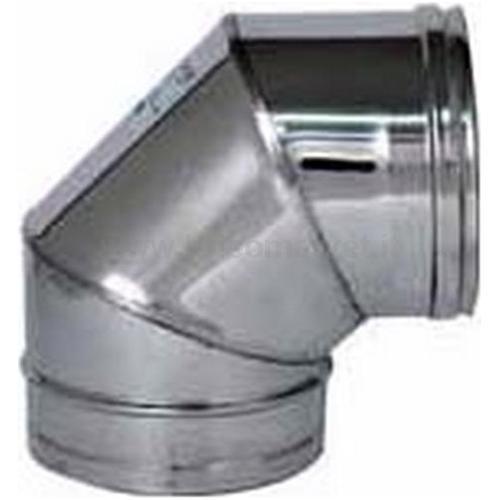 CURVA A 90 INOX AISI 304 0,5 DIAM.100