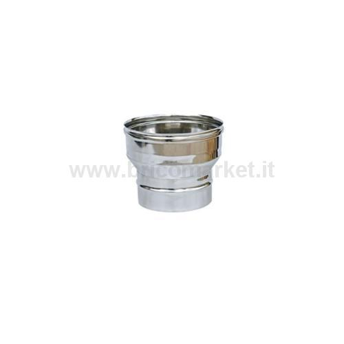 RIDUZIONE INOX AISI304 0,5 DIAM.100-80