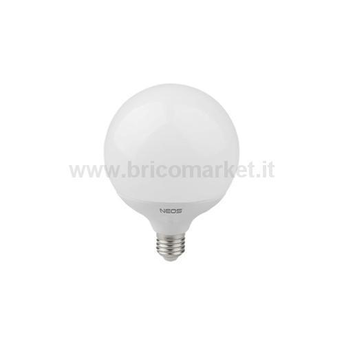 LAMPADA LED GLOBO 20W E27 LUCE NATURALE 4000K