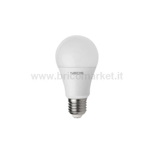 LAMPADA LED GOCCIA 12W E27 LUCE NATURALE 4000K